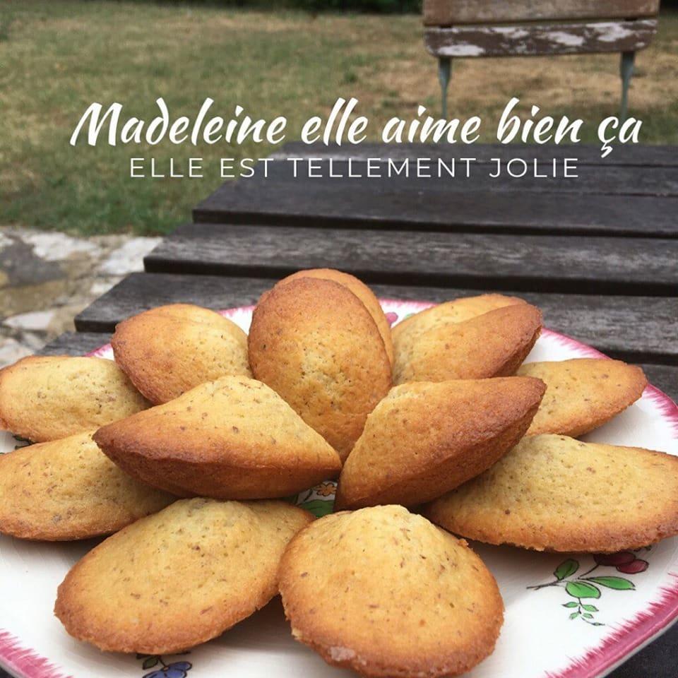 Madeleines recette