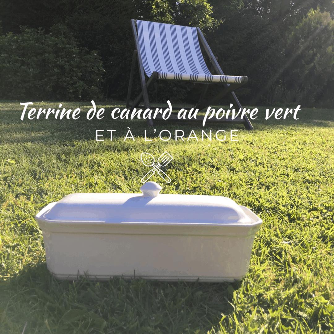 Terrine de canard - Le Potager Voyageur - Recette très ...