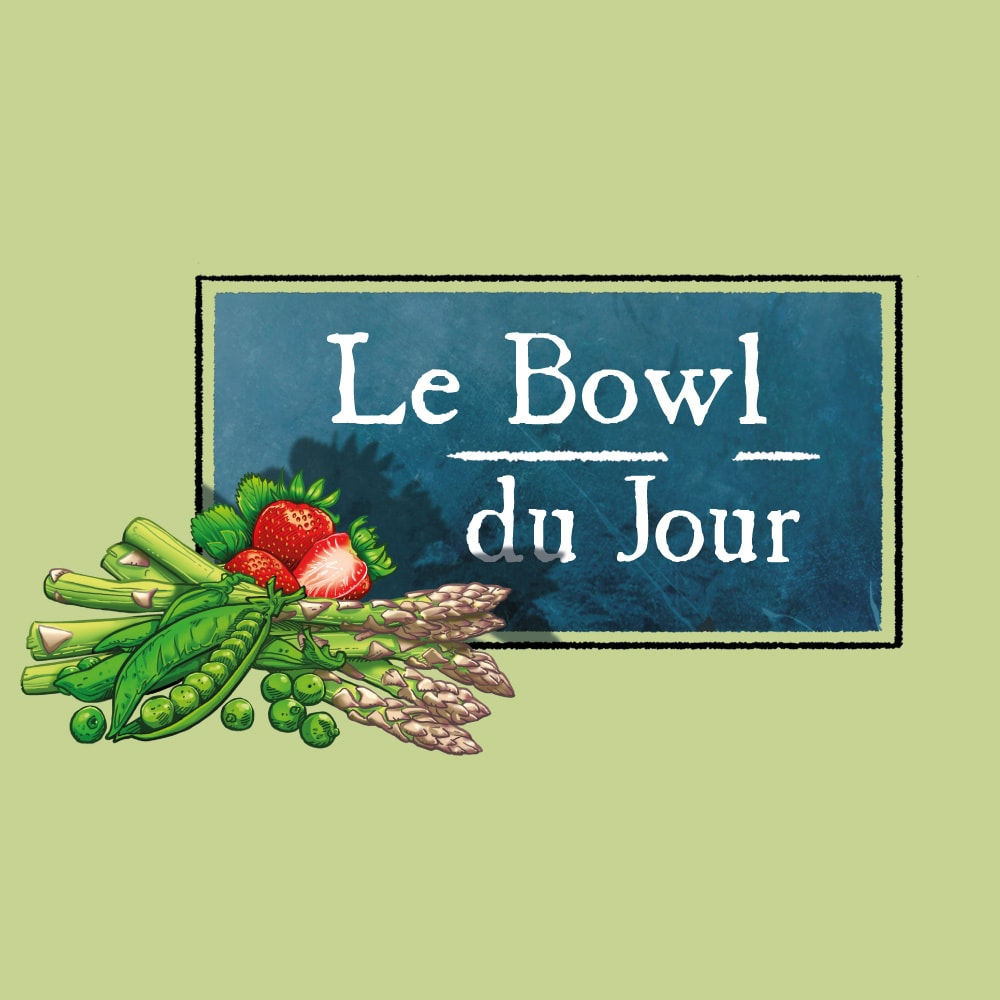 Bowl du jour Le potager Voyageur
